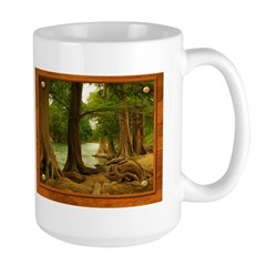 Guadalupe River Large Mug