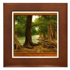 Guadalupe River Framed Tile