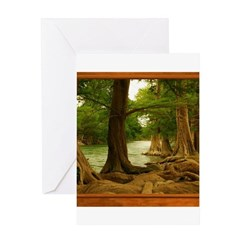 Guadalupe River Greeting Card