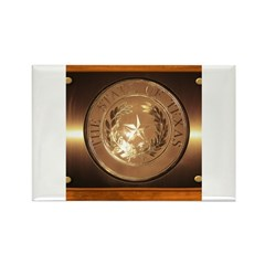 Great Seal of Texas Rectangle Magnet