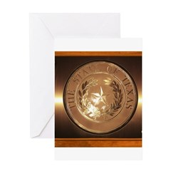 Great Seal of Texas Greeting Card