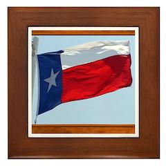 State Flag #3 Framed Tile