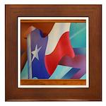State Flag #2 Framed Tile