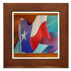 State Flag #2 Framed Tile