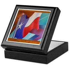State Flag #2 Keepsake Box