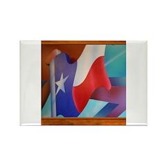 State Flag #2 Rectangle Magnet