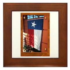 State Flag #1 Framed Tile