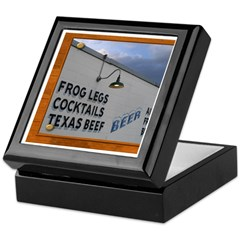 Texas Dining Keepsake Box