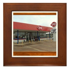 The Dairy Queen Framed Tile