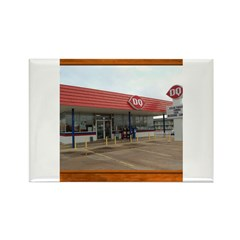 The Dairy Queen Rectangle Magnet