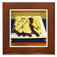 Texas Cookies Framed Tile