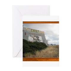 The Chief Drive In Theater Greeting Card