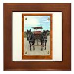 Texas Buggy Framed Tile