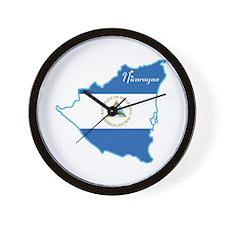 Cool Nicaragua Wall Clock
