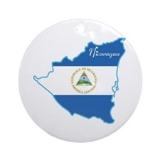 Cool Nicaragua Ornament (Round)