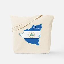 Cool Nicaragua Tote Bag