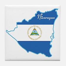 Cool Nicaragua Tile Coaster