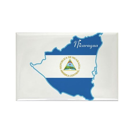 Cool Nicaragua Rectangle Magnet (100 pack)