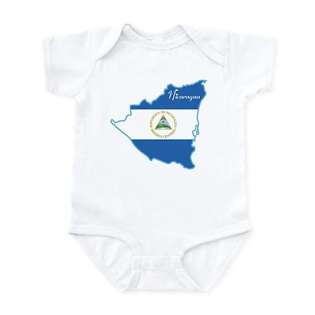Cool Nicaragua Infant Bodysuit