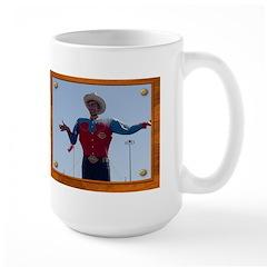 Big Tex #2 Large Mug