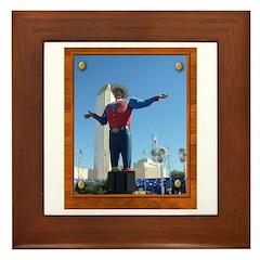 Big Tex #1 Framed Tile