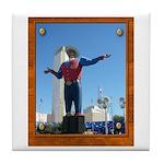 Big Tex #1 Tile Coaster