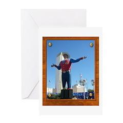 Big Tex #1 Greeting Card