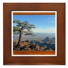 Big Bend Country Framed Tile