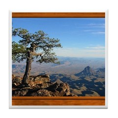 Big Bend Country Tile Coaster