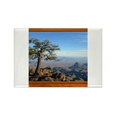 Big Bend Country Rectangle Magnet