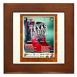 BBQ Festival Framed Tile