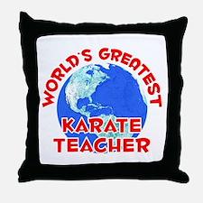World's Greatest Karat.. (F) Throw Pillow