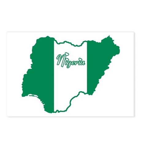 Cool Nigeria Postcards (Package of 8)