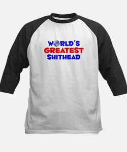 World's Greatest Shith.. (A) Kids Baseball Jersey