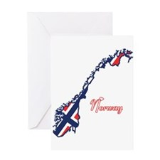 Cool Norway Greeting Card