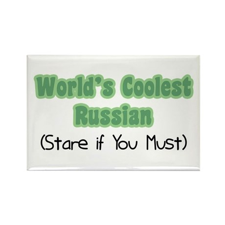 World's Coolest Russian Rectangle Magnet