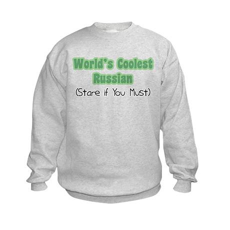 World's Coolest Russian Kids Sweatshirt