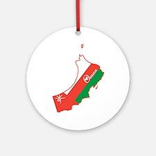 Cool Oman Ornament (Round)