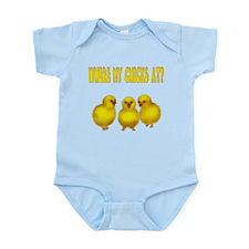 Easter Chicks Infant Bodysuit