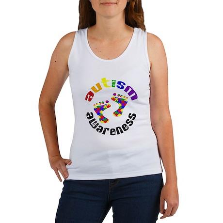Autism Awareness Circle Women's Tank Top