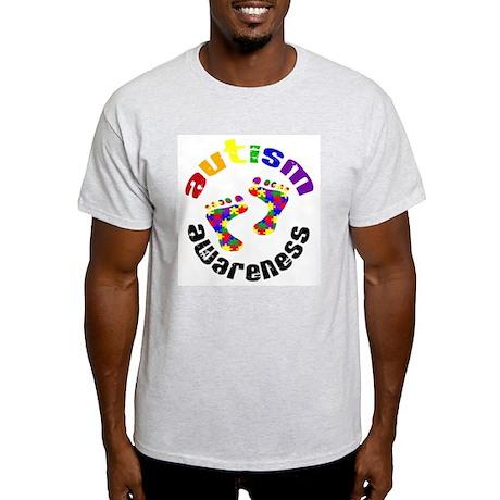 Autism Awareness Circle Light T-Shirt