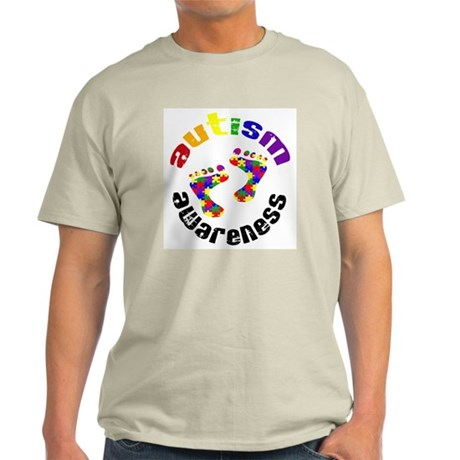 Autism Awareness Circle Light T-Shirt