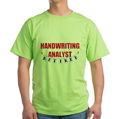 Retired Handwriting Analyst T-Shirt