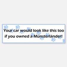 Your Car Munsterlander Bumper Bumper Bumper Sticker