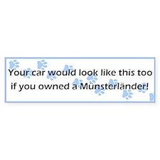 Your Car Munsterlander Bumper Bumper Sticker