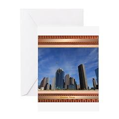 Houston Skyline #7 Greeting Card