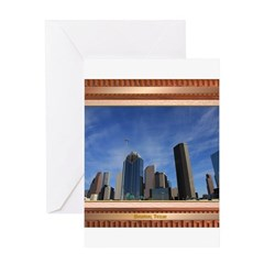 Houston Skyline #7 Greeting Card