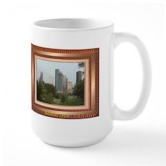 Houston Skyline #6 Large Mug