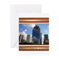 Houston Skyline #5 Greeting Card