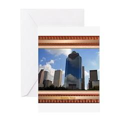 Houston Skyline #5 Greeting Card